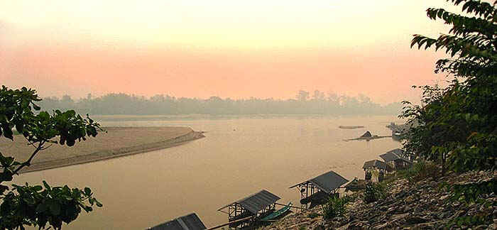 'The Golden Triangle at Chiang Saen | Confluence of Nam Ruak and Mekong River' by Asienreisender