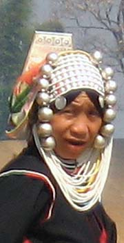'The Face of an Akha Woman around Mae Salong | Santikhiri' by Asienreisender