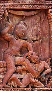 'Carving in Banteay Srei' by Asienreisender