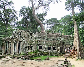 'Ta Prohm, Angkor Archaeological Park, East Wing' by Asienreisender