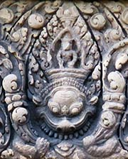 'Lintel Carving in Prasat Ta Muang' by Asienreisender