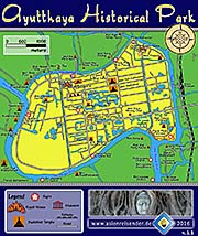 Thumbnail 'Map of Ayutthaya Historical Park' by Asienreisender