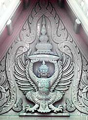 'A Garuda in a Temple Gable' by Asienreisender
