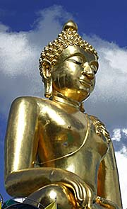 'The Large Golden Buddha at the Golden Triangle' by Asienreisender
